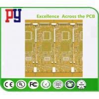 Yellow Solder Mask Color Multilayer PCB Circuit Board 6 Layer Fr4 1.6 1OZ High TG Manufactures