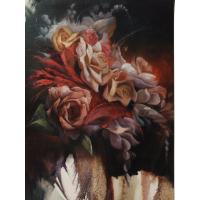 Diamond Painting Flower pink rose diamond embroidery home art Manufactures