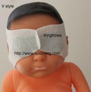 Newborn Baby Eye Mask V Style 800um Wavelength OEM ODM Service Manufactures