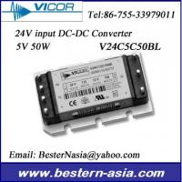 Vicor Power Supply V24C5C50BL 24V to 5V 50W DC-DC Converter for process control Manufactures