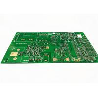 Buy cheap ISO FR4 Multilayer PCB Board Green Soldermask White Silkscreen ENIG / HASL from wholesalers