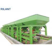 China 12000 * 3500 * 3000mm Rockwool Sandwich Panel Production Line For Glass Fiber Plate Making on sale