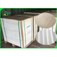 FDA Certified 40gsm White And Brown Kraft Paper With PE Coated Waterproof Manufactures