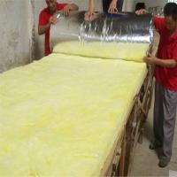 Heat insulation glass wool blanket with Aluminium foil Manufactures