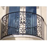 Top-selling hand forged wrought iron balcony railing Manufactures