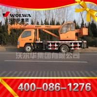 Chinese manufacturer small wheel crane 6 ton truck mounted crane with telescopic GNQY-3200 Manufactures