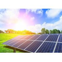 Blue Monocrystalline And Polycrystalline Solar Panel / Solar Power System Manufactures