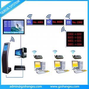 China Web Based Multiple Language Bank Wireless Ticket Kiosk Queue System on sale