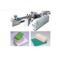 1.5-25mm Thickness Foam Sheet Cutting Machine / Recycled WPC Foam Board Machine Manufactures