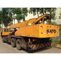 Four Section Level Used KATO Crane 25 Ton NK250E , Original From Japan Manufactures