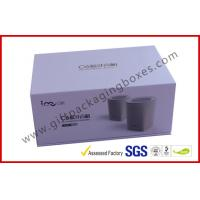 Blue Tooth Speaker Magnetic Rigid Gift Boxes White And Blue Custom Packaging Boxes Manufactures