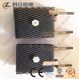 Ru-ir Oxide Coating Titanium Anode for electrosysis Manufactures