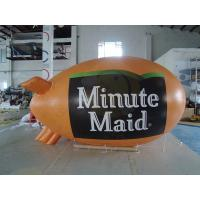 0.18mm PVC Helium Advertising Blimps Bespoke UV Productive Printing Manufactures