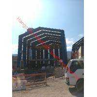 H Column Metal Frame Type Prefabricated Steel Building For Industrial Use Manufactures