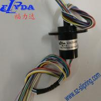 China Mini slip ring for 30A current 6 wires/circuits contact of wind turbine slip ring on sale