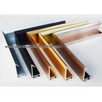 Modern Design Aluminium Picture Frame Mouldings With Narrow Frame Border Manufactures