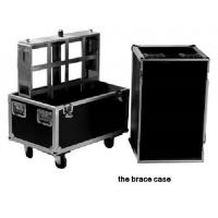 Professional Rack Mount Wheeled Flight Case Brace Case 6082-T6 16 Degree Aluminum Alloy Manufactures