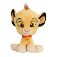 Yellow 8inch Disney Big Head Lion King Simba Cartoon Stuffed Plush Toys Manufactures