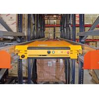 Hot Sale Warehouse Automated Deep Lane Pallet Radio Shuttle Racking System Manufactures