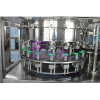2 In 1 Monoblock Bottle Filling Machine For Plastic Cans Manufactures