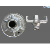 Steel Galvanized Construction Scaffolds Forged 17mm Formwork Nut Without Plate Manufactures