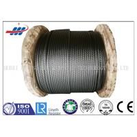 China Steel Cable Wire Rope Oil Surface Non Rotating Wire Rope Construction on sale