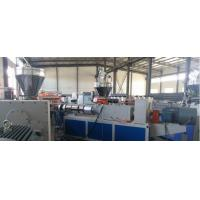 China 3 Layer WPC Construction Template Production Line / Construction Template Extruder on sale