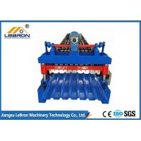 Service long time2018 new type color steel glazed tile roll forming machine PLC control automatic made in china Blue Manufactures