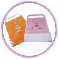 Customized Clothing Plastic Handle Bag Promotion Shopping Bags Manufactures