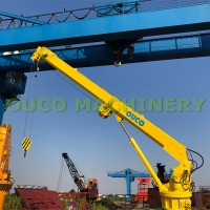 Fixed Marine Hydraulic 10m/Min 20m Telescopic Boom Crane Manufactures