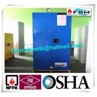 60 Gallon Corrosive Storage Cabinets Flameproof For Hydrochloric Acid / Acetic Acid Manufactures