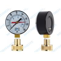 Blow out protection pressure gauge , 2.5 bottom hydraulic pressure gauge Manufactures