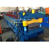 Professional Roofing Sheet Making Machine , Roof Panel Roll Forming Machine 3kw Power Manufactures