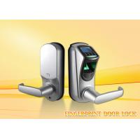 Buy cheap Multi Language Fingerprint Door Lock Support Password Lenth 6-10 Digit from wholesalers