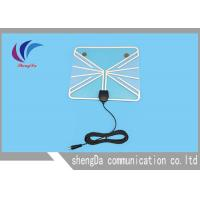 Amplified Digital TV Antenna , Indoor Television Antennas For Digital TV 360 Degree Reception Manufactures