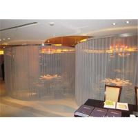 China Cascade Coil Architectural Drapery Aluminum Alloy Material For Exhibition Hall on sale