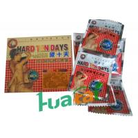 Hard Ten Days Herbal Male Enhancement Capsules For Adult Healthcare with 4500 mg X 6 Specification Manufactures