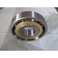 Long life Single Row Angular Contact Ball Bearing With Brass Cage Manufactures