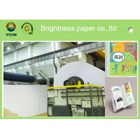 Quality A4 Compatible Offset Printing Paper / Book Printing Paper High Brightness for sale