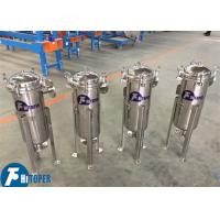 Side Feeding Industrial Cartridge Filter Housings Water Purification Treatment Manufactures