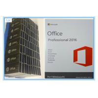 China OEM Microsoft Office Professional Plus 2016 Key , Windows Office Pro 2016 USB Flash Englsih on sale