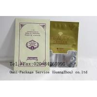 Eco Plastic Laminated Flexible Packaging Pouches For Facial Mask and Cosmetic Manufactures