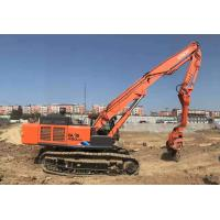 High Accuracy Vibratory Hammer Pile Driver , Hydraulic Pile Driving Equipment Manufactures