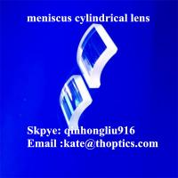 China bk7 jgs1 meniscus cylindrical lens,cylinder lens,optical glass convex-concave cylindrical lens on sale