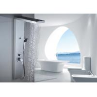 China ROVATE Cold / Hot Water Wall Mount Shower Panel With Back SPA Sprayer on sale