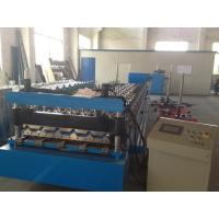 Custom made high quality roofing panel sheet forming machine for 0.3-0.8mm PPGI coil Manufactures