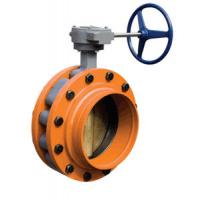 worm gear double eccentric flange butterfly valve Manufactures