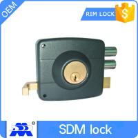 High Security Rim Lock 2700 Two Round Bolt Customized Service Manufactures