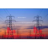 MEGATRO 230KV double circuit light angle tension transmission line steel tower Manufactures