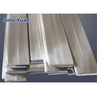 Low Magnetic Permeability Stainless Steel Flat Rod , 304 Stainless Steel Flat Bar  Vexcellent Toughness Manufactures